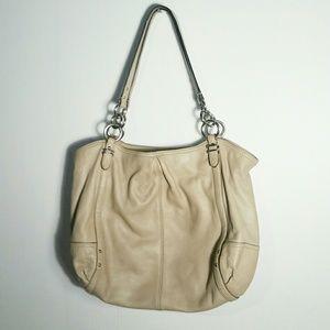 """COACH """"Alexandra"""" bag, putty color, $50"""